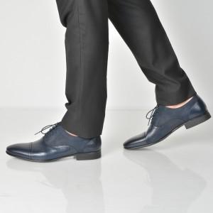Pantofi ALDO bleumarin, Nalessi, din piele naturala