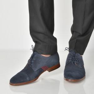 Pantofi ALDO bleumarin, Qaynia, din piele naturala