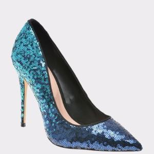 Pantofi Aldo Albastri, Stessy, Din Piele Ecologica