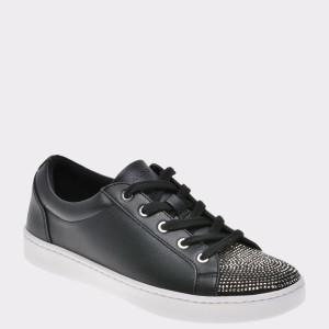 Pantofi ALDO negri, Breriria, din piele ecologica