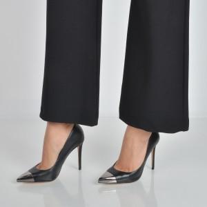 Pantofi ALDO negri, Edania, din piele naturala