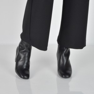 Botine ALDO negre, Seiria, din piele naturala