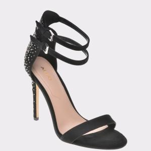 Sandale ALDO negre, Driramma, din piele ecologica