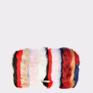 Poseta ALDO multicolora, Frohna, din material textil
