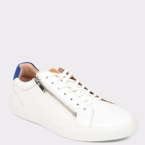 Pantofi ALDO albi, Zaywia, din piele ecologica