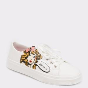 Pantofi sport ALDO albi, Cadian, din piele ecologica