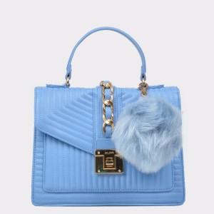 Poseta ALDO albastra, Jerilini, din piele ecologica