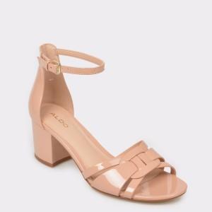 Sandale ALDO bej, Agreidia, din piele ecologica