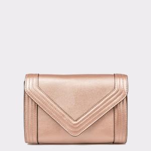 Poseta plic ALDO roz, Tarres, din piele ecologica