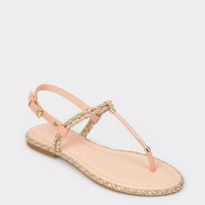Sandale ALDO nude, MIROENIEL, din piele ecologica