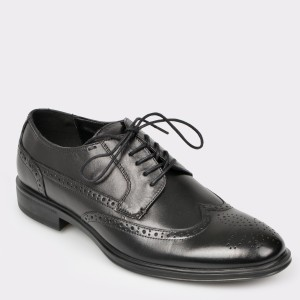 Pantofi ALDO negri, Legosien, din piele naturala