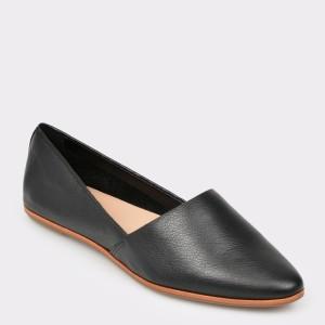 Pantofi ALDO negri, Blanchette, din piele naturala