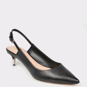 Pantofi ALDO negri, Feliria, din piele naturala