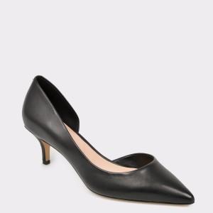Pantofi ALDO negri, Nyderindra, din piele naturala
