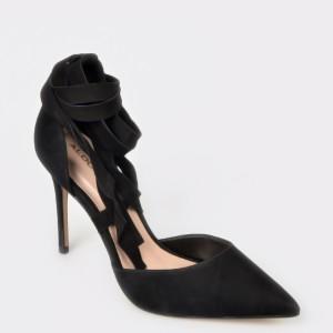 Pantofi ALDO negri, Trerraniel, din piele naturala