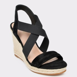Sandale ALDO negre, Araudia, din piele naturala