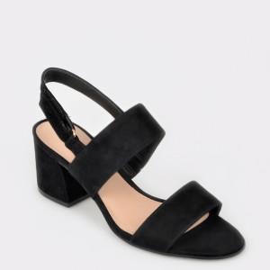 Sandale ALDO negre, ARIEVIA, din piele naturala