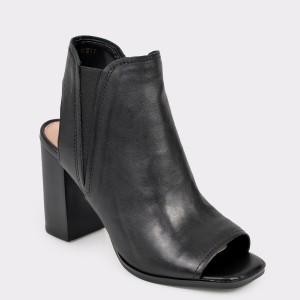 Sandale ALDO negre, Selalla, din piele naturala