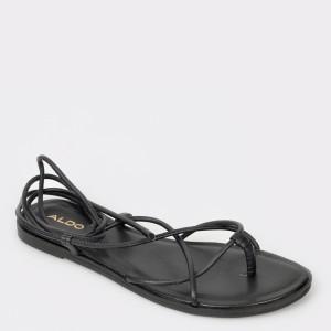 Sandale ALDO negre, Wigoclya, din piele naturala