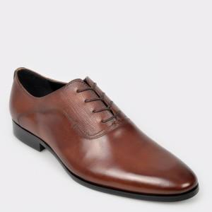 Pantofi ALDO maro, Elaerien, din piele naturala