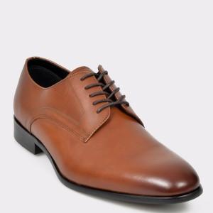 Pantofi ALDO maro, Proven, din piele naturala