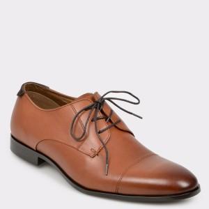 Pantofi ALDO maro, Vareni, din piele naturala