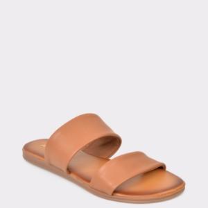 Papuci ALDO maro, Eowydia, din piele naturala