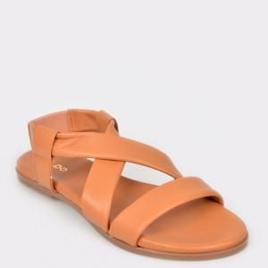 Sandale ALDO maro, Galaradeb, din piele naturala
