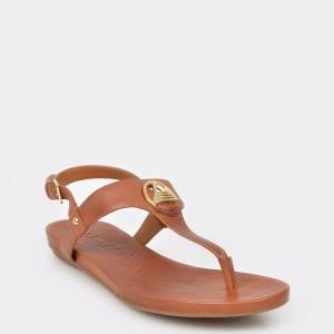 Sandale ALDO maro, Larenalia, din piele naturala
