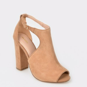 Sandale ALDO bej, Rienia, din piele naturala