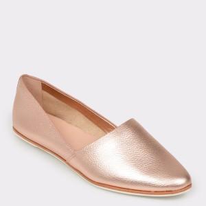 Pantofi ALDO aurii, Blanchette, din piele naturala