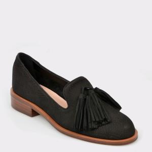 Pantofi ALDO negri, Capps, din piele naturala