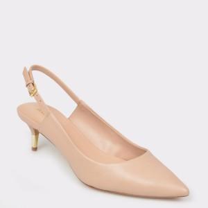 Pantofi ALDO nude, Feliria, din piele naturala