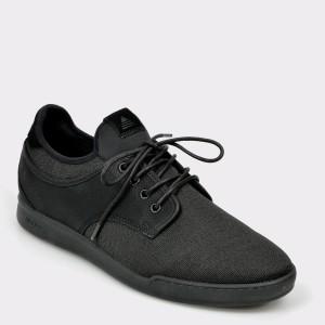 Pantofi ALDO negri, Presure, din material textil