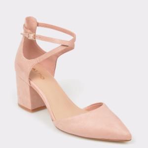 Pantofi ALDO roz, Brookshear, din material textil