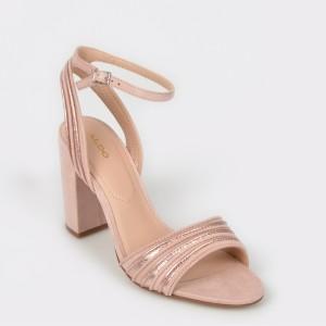 Sandale ALDO roz, Glerin, din material textil
