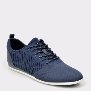 Pantofi ALDO bleumarin, Cadiedda, din material textil