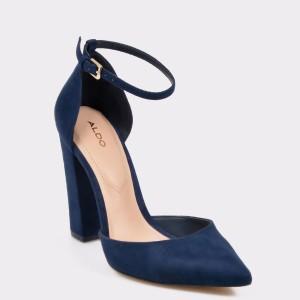 Pantofi ALDO bleumarin, Nicholes, din material textil