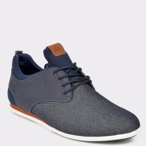 Pantofi ALDO bleumarin, Preilia, din material textil