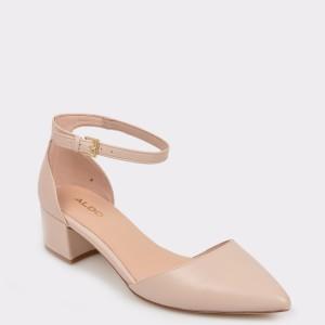Pantofi ALDO bej, Zulian, din material textil