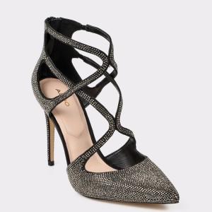 Pantofi ALDO negri, Ringwen, din material textil