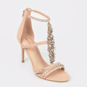 Sandale ALDO nude, Sevorien din material textil