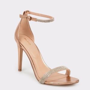 Sandale ALDO aurii , Aroclya, din piele ecologica