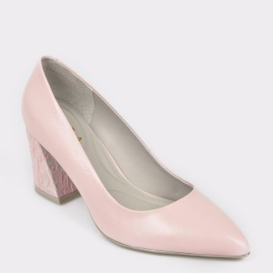 Pantofi EPICA roz, 7316370, din piele naturala