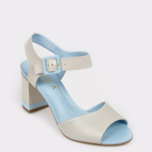 Sandale EPICA gri, 9084082, din piele naturala