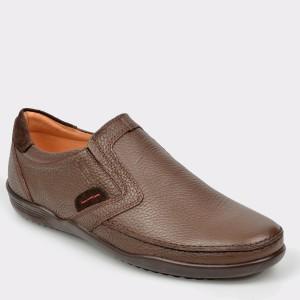 Pantofi OTTER maro, 220, din piele naturala