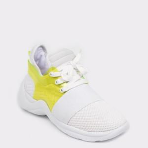Pantofi sport FLAVIA PASSINI albi, 296403, din material textil