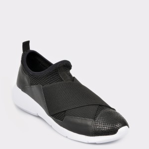 Pantofi sport FLAVIA PASSINI negri, 297503, din material textil