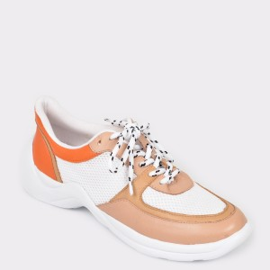 Pantofi sport FLAVIA PASSINI multicolori, 296404, din piele naturala si material textil