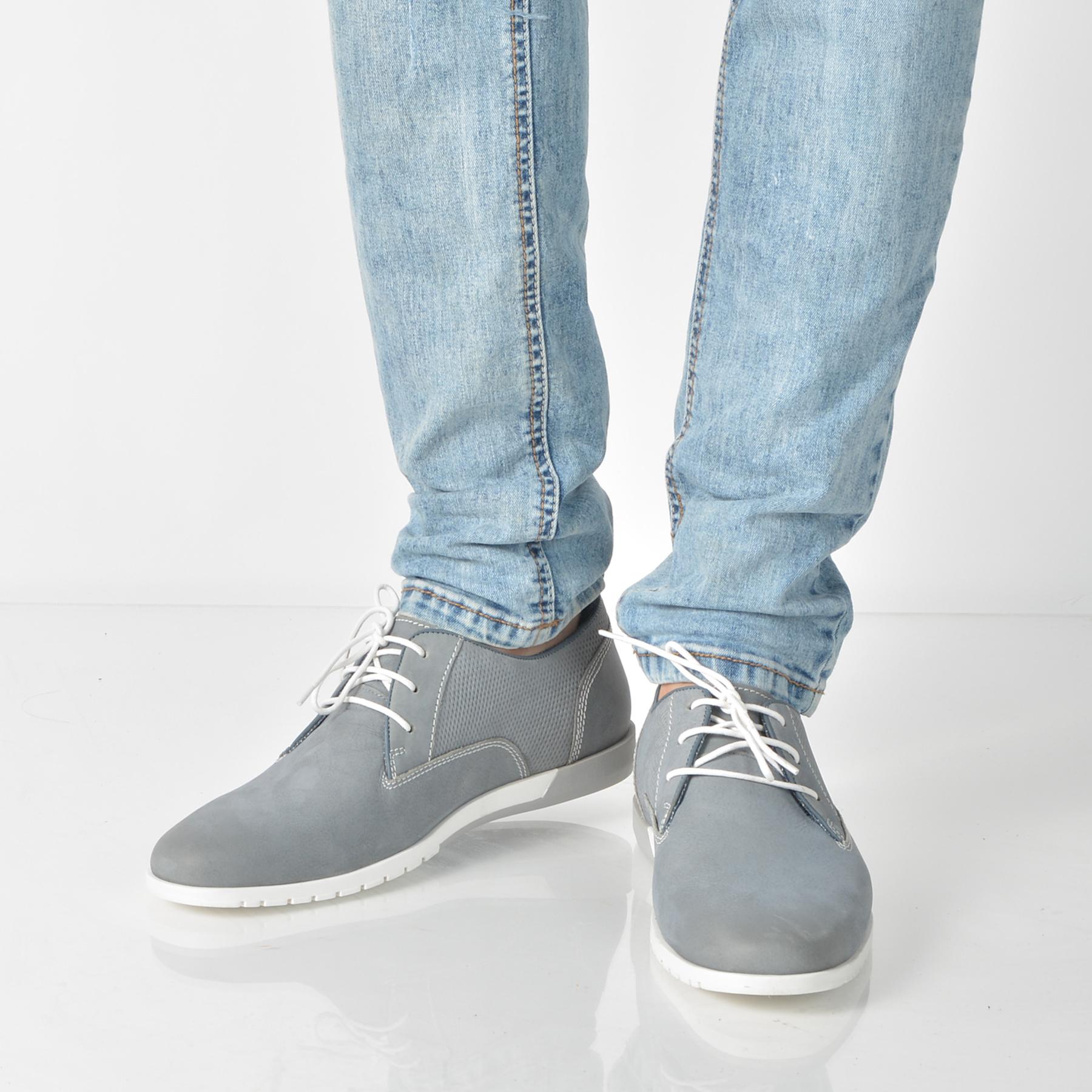 Pantofi Otter Gri, 4210, Din Nabuc